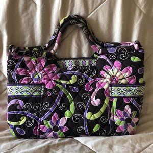 RETIRED Purple Punch Gabby bag plus wallet